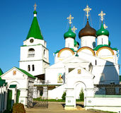 Pechersky Ascension Monastery Nizhny Novgorod Stock Photo