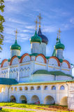 Pechersky ascension monastery in Nizhny Novgorod Royalty Free Stock Image
