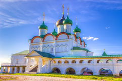 Pechersky ascension monastery in Nizhny Novgorod Stock Photo