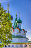Pechersky ascension monastery in Nizhny Novgorod Royalty Free Stock Photography
