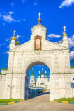 Pechersky-Besteigungskloster in Nischni Nowgorod Stockbilder