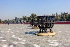 PECHINO, CINA - 14 MARZO 2016: Turisti che visitano la circolare Fotografie Stock