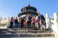 PECHINO, CINA - 15 ottobre 2013: Il tempio del cielo complesso, Pechino, Cina Immagine Stock