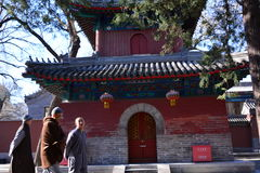 Pechino Fayuansi immagini stock libere da diritti