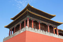 Pechino, la Città proibita Immagine Stock