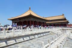 Pechino, la Città proibita Fotografie Stock Libere da Diritti