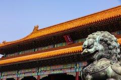 Pechino la Città proibita fotografia stock libera da diritti