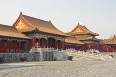 Pechino, la città severa Fotografia Stock Libera da Diritti
