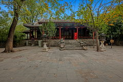 Pechino Shichahai Hai Gong Prince House Fotografie Stock