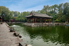 Pechino Shichahai Hai Gong Prince House Fotografia Stock