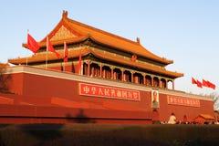 Pechino Tiananmen Fotografia Stock