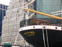 Pechino, un'imbarcazione mercantile 1932 Fotografia Stock