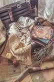 Pecho de la abuela fotos de archivo libres de regalías