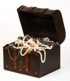 Pecho de la joyería Foto de archivo libre de regalías