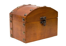 Pecho de madera Imagen de archivo libre de regalías