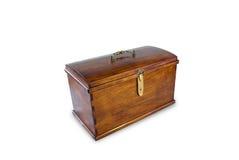 Pecho de madera Imágenes de archivo libres de regalías