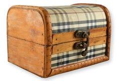 Pecho de madera, cerrado Fotos de archivo libres de regalías