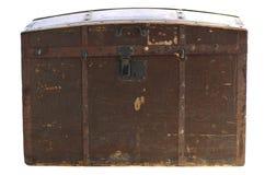 Pecho de madera de la vendimia vieja imagen de archivo libre de regalías