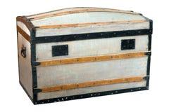 Pecho de madera llevado y envejecido Foto de archivo