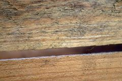 Pecho de madera retro viejo del vino en distintas vistas foto de archivo