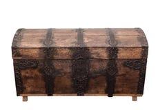 Pecho de madera viejo. imagenes de archivo