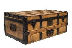 Pecho de madera viejo imagen de archivo
