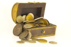 Pecho de tesoro Foto de archivo libre de regalías