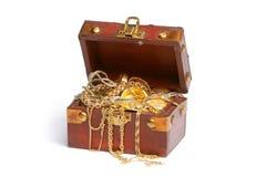Pecho de tesoro Imágenes de archivo libres de regalías