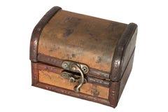 Pecho de tesoro antiguo imagen de archivo libre de regalías