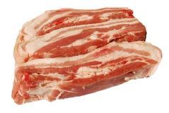 Pecho rebanado del cerdo Imagen de archivo libre de regalías