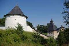 Pechorskiy monastery Royalty Free Stock Image