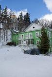 Pechorsky monastery Stock Photos