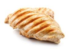 Pechos de pollo asados a la parilla Foto de archivo