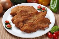 Pechuga de pollo asada a la parrilla deliciosa Foto de archivo libre de regalías