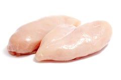 Pechugas de pollo crudas Imagen de archivo libre de regalías