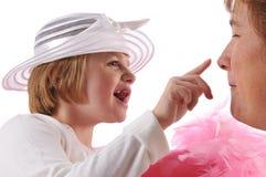 Pecial benötigt Mädchen Lizenzfreie Stockbilder