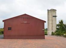Peck Farm Barn y Silo Imagen de archivo libre de regalías
