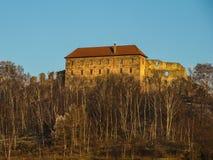 Pecka castle. In eastern Bohemia (Czech Republic Stock Photography