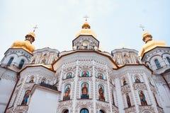 Peckerskaya lavra教会 库存照片