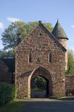 Peckforton Castle Gatehouse Royalty Free Stock Image