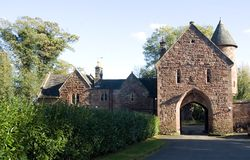 Peckforton Castle Gatehouse Royalty Free Stock Photography