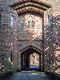 PECKFORTON, CHESHIRE/UK - SEPTEMBER 15 : Entrance Arch to Peckfo Stock Images