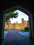 PECKFORTON, CHESHIRE/UK - SEPTEMBER 15 : Entrance Arch to Peckfo Royalty Free Stock Images