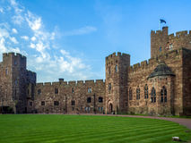 PECKFORTON, CHESHIRE/UK - SEPTEMBER 15 : View of Peckforton Cast Royalty Free Stock Photography
