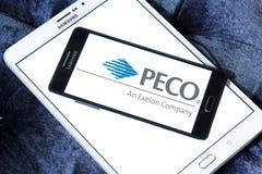 PECO Energy Company商标 免版税库存图片