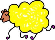 Pecore illustrazione vettoriale
