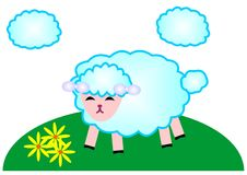 Pecore Royalty Illustrazione gratis