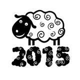 Pecore 2015 Fotografie Stock