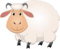 Pecore del bambino del fumetto illustrazione di stock