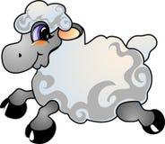 Pecore del fumetto Fotografie Stock Libere da Diritti
